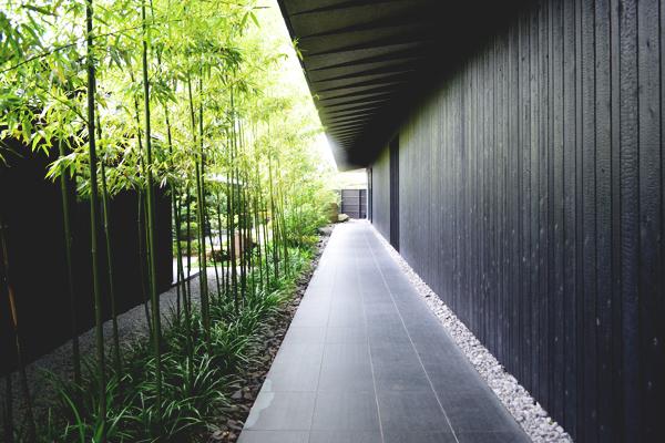 コミコアートミュージアム中庭