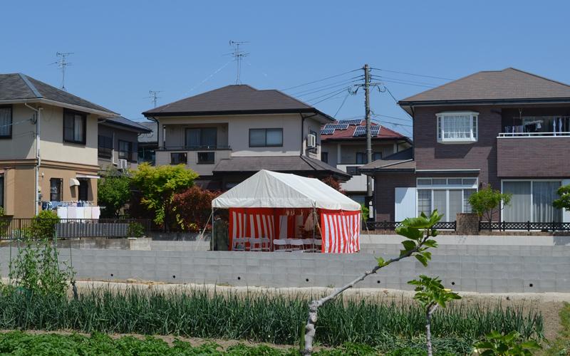 有田の家 地鎮祭