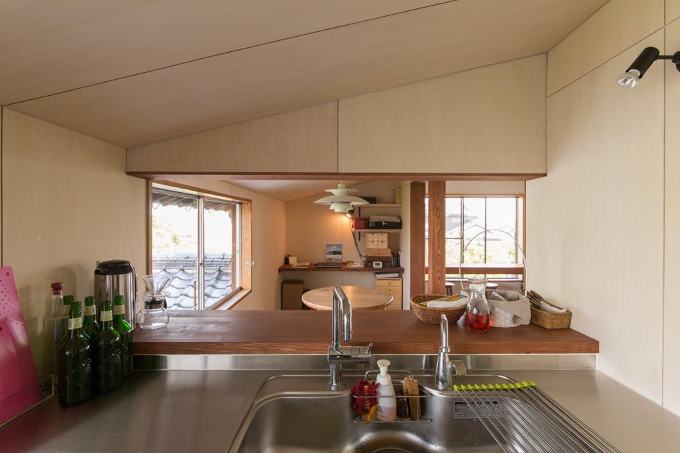 おとときの家 対面キッチン