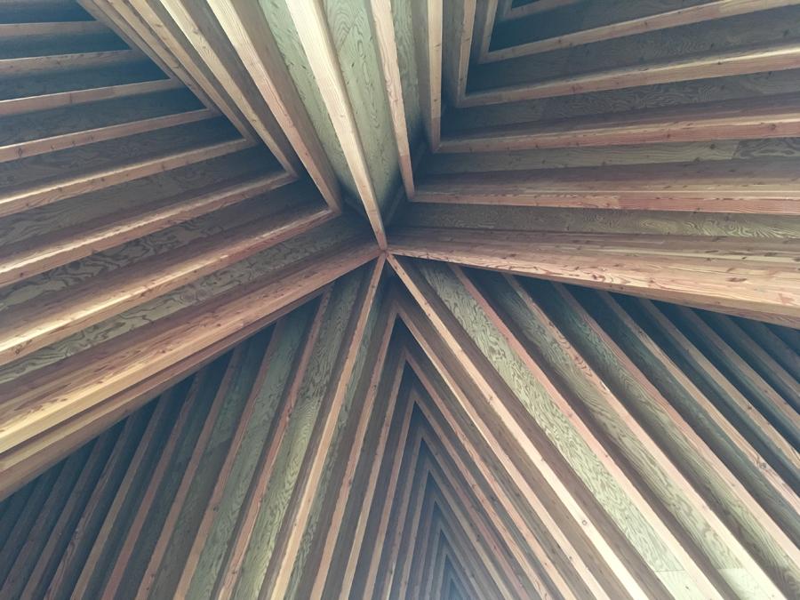 礼拝堂の天井