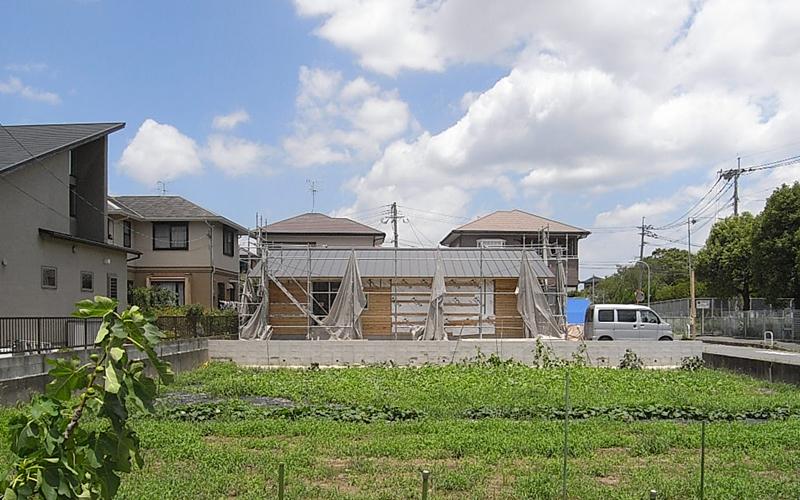 有田の家 工事中