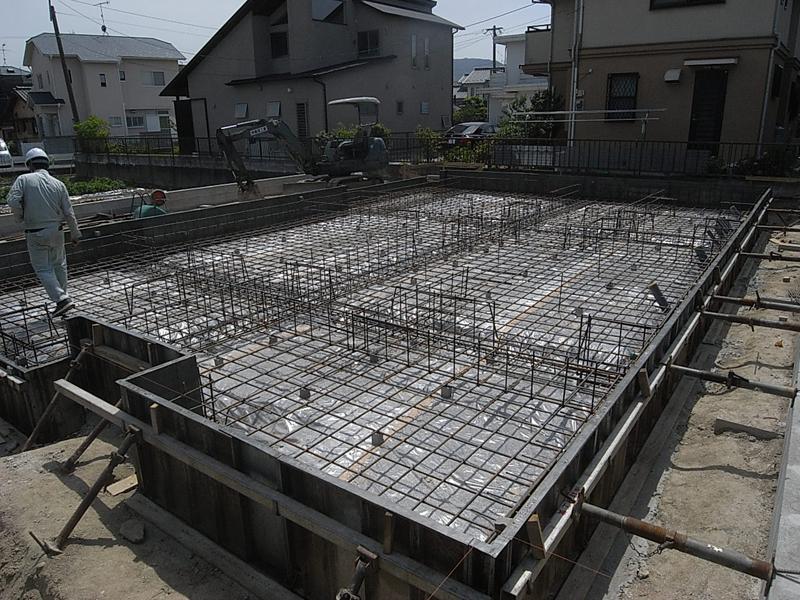 有田の家 基礎配筋検査